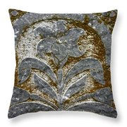 A Grave Detail Throw Pillow by Jean Noren