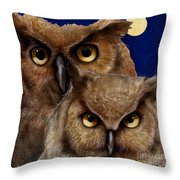 A Great Pair Of Hooters... Throw Pillow