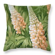 A Great Place To Bee Throw Pillow