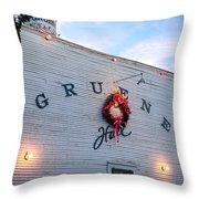 A Gruene Christmas Throw Pillow