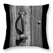 A Handle On It - Bw Throw Pillow