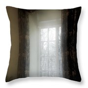 A Hazy Shade Of Winter Throw Pillow