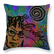 A Healing Potion Called Color Throw Pillow