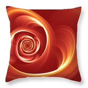 A Heart In Turmoil Throw Pillow