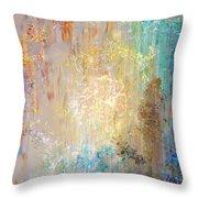 A Heart So Big - Custom Version 2 - Abstract Art Throw Pillow