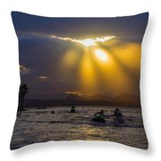 A Heavenly Display Throw Pillow