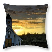 A Heavenly Morning  Throw Pillow