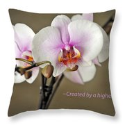 A Higher Power Throw Pillow