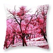 A Hint Of Pink Throw Pillow