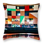 A History Of The Harbor  Throw Pillow