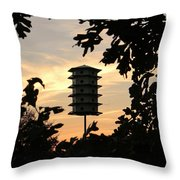 A Home Among The Trees Throw Pillow by Jean Goodwin Brooks