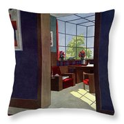 A House And Garden Cover Of An Interior Throw Pillow