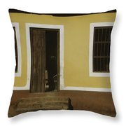 A House Is Made Of Walls And Beams A Home Is Built With Love  Throw Pillow
