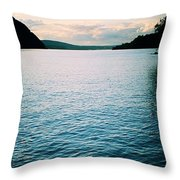 A Hudson River View Throw Pillow