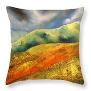 A Journey To The Unknown Throw Pillow