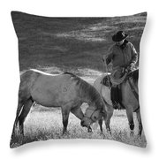 A Kind Moment Throw Pillow