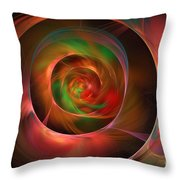 A Kind Of Inner Opalescence Throw Pillow