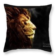 A King's Look 2 Throw Pillow