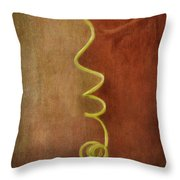 A Kiss Throw Pillow