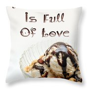 A Kitchen Is Full Of Love 13 Throw Pillow