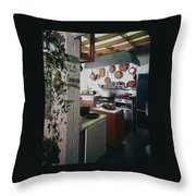 A Kitchen Throw Pillow
