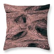 A Knotty Issue Throw Pillow