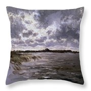 A Lake In The Netherlands Throw Pillow