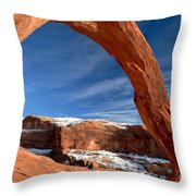 A Large Corona Throw Pillow