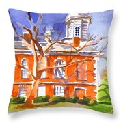 A Late Autumns Saturday Afternoon Throw Pillow