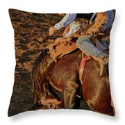 A Leap And A Bound Throw Pillow