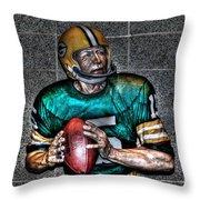 A Legend Throw Pillow