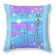 A Legendary Star Throw Pillow