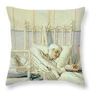 A Letter To Mother Throw Pillow