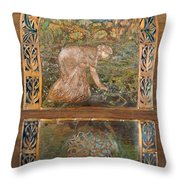 A Life Of Peace And Plenty Throw Pillow