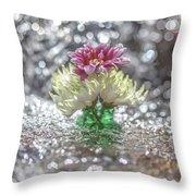 A Light Shower Throw Pillow