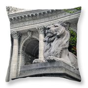 A Lion Called Fortitude Throw Pillow