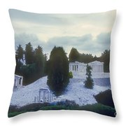 A Little Bit Of Athens Throw Pillow