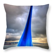 A Little Drop Throw Pillow