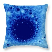 A Little Frost Throw Pillow
