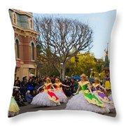 A Little Girls Dream Throw Pillow