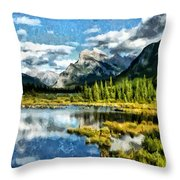 A Little Of Something Just Right Throw Pillow