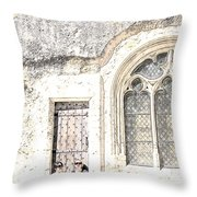 A Little Rest With Scenic View Throw Pillow