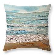 A Little Slice Of Paradise Throw Pillow