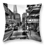 A Little Taste Of China Throw Pillow