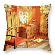 A Living Room With Furniture By Mt Airy Chair Throw Pillow