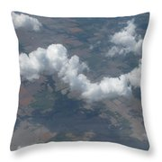 A Lonely Drifter Throw Pillow