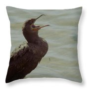 A Lonely Voice Throw Pillow by Sean Green