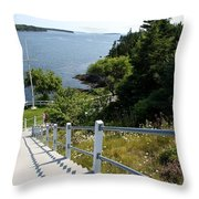 A Long Way Down Throw Pillow
