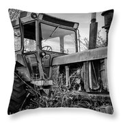 A Lonsome Deere Throw Pillow