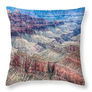 A Look Into The Grand Canyon  Throw Pillow